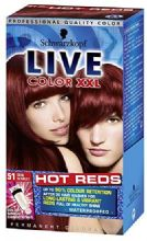 Schwarzkopf Live Color XXL Hot Reds 51 Cool Scarlet